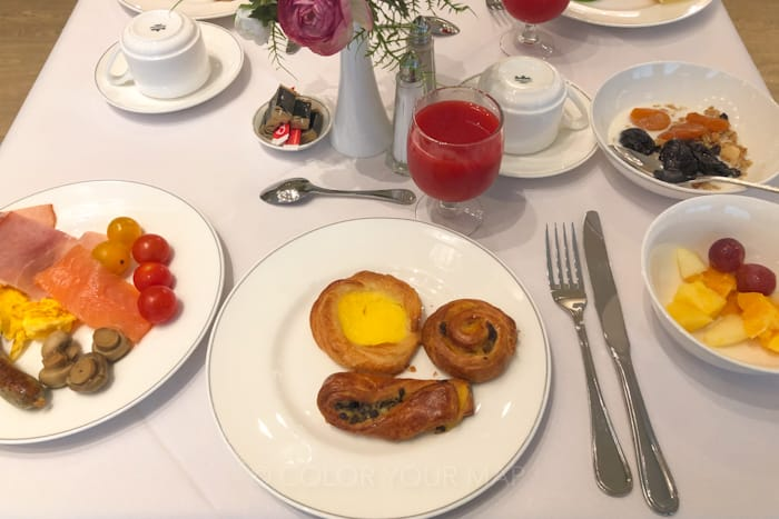 グランドホテルカッセルベルグ朝食
