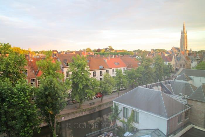 グランドホテルカッセルベルグ部屋からの眺望