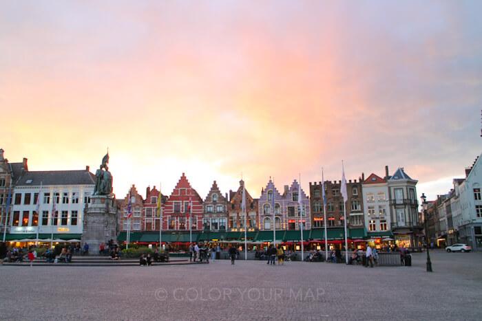 ブルージュマルクト広場