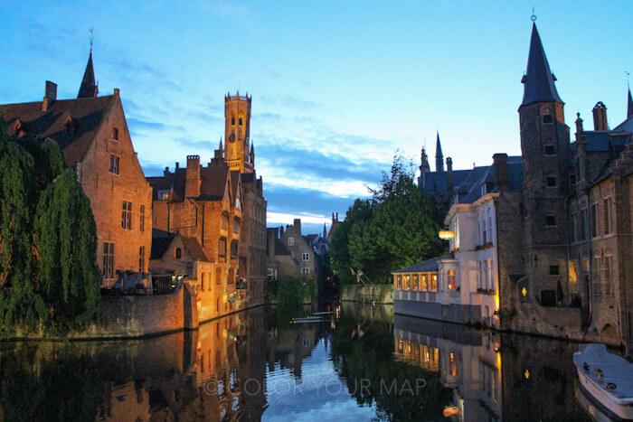 ローゼンダッカイはブルージュで一番人気の写真スポット