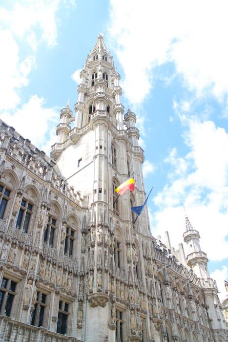 ブリュッセルグランプラス市庁舎