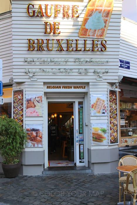 ブリュッセルの人気ワッフル店GaufredeBruxelles