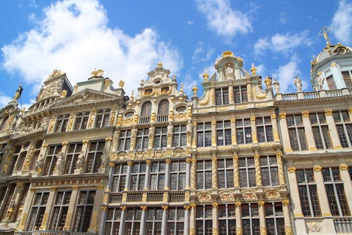 ブリュッセルグランプラスにあるギルドハウス