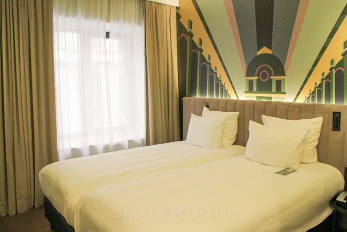 ホテルユベールグランプラスベッドルーム