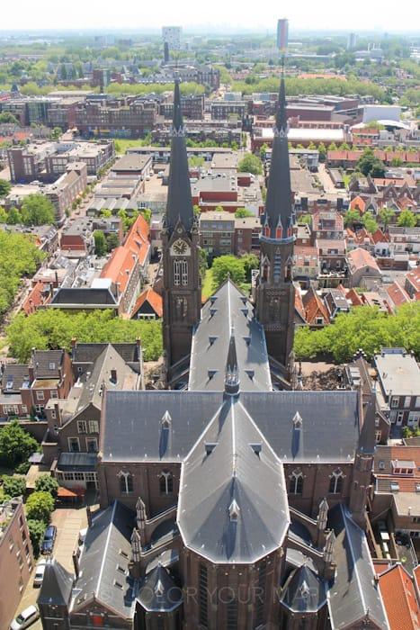 デルフト新教会からの眺望