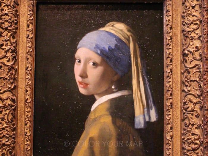 マウリッツハイス王立美術館所蔵フェルメール真珠の耳飾りの少女