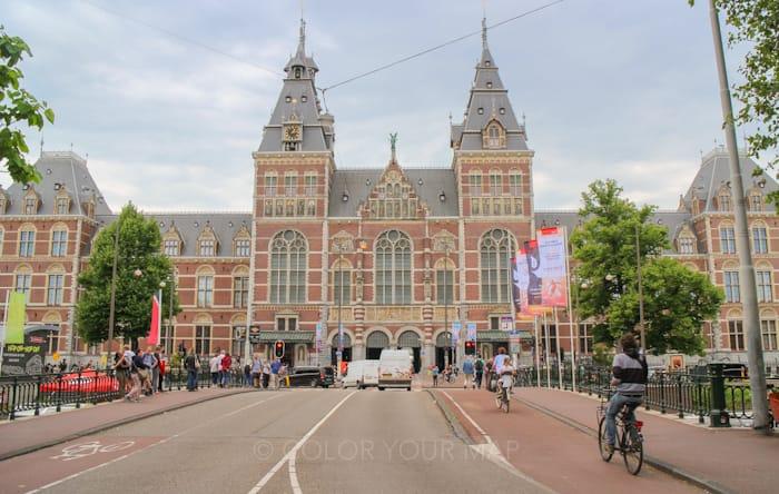 アムステルダム国立美術館外観