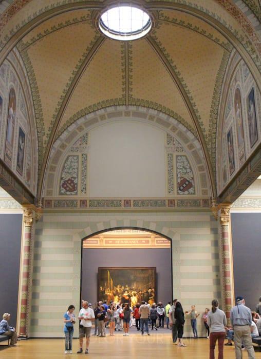 アムステルダム国立美術館最大の見どころ名誉の間