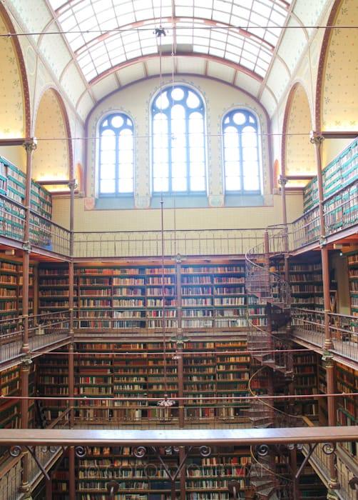 アムステルダム国立美術館のカイパース図書館