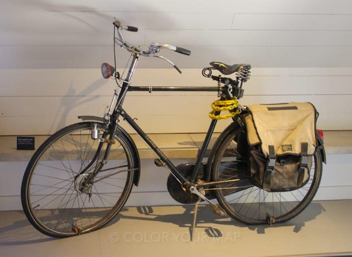 ユトレヒトにあるセントラルミュージアムの見どころブルーナさんの自転車