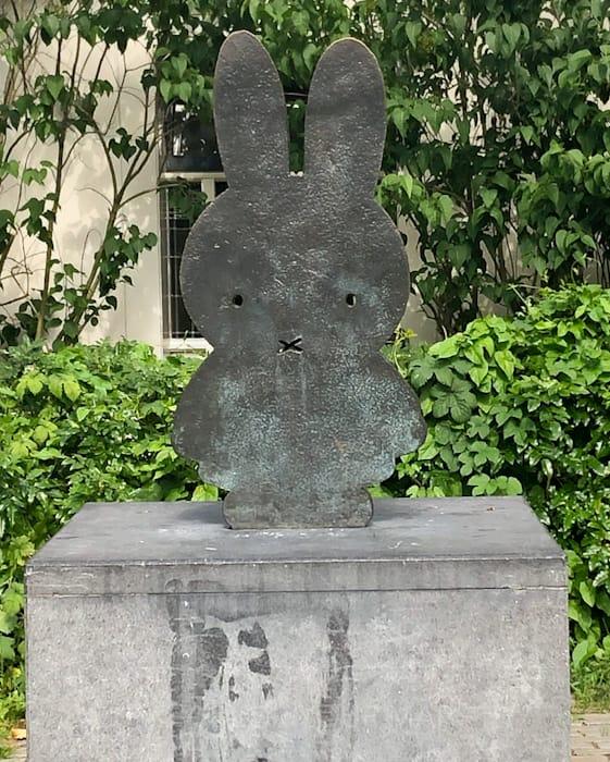 ユトレヒトにあるミッフィー像