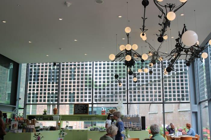 セントラルミュージアムのミッフィーカフェ