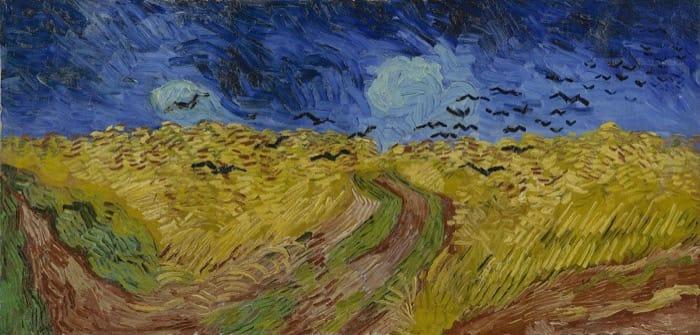 アムステルダムゴッホ美術館所蔵カラスのいる麦畑