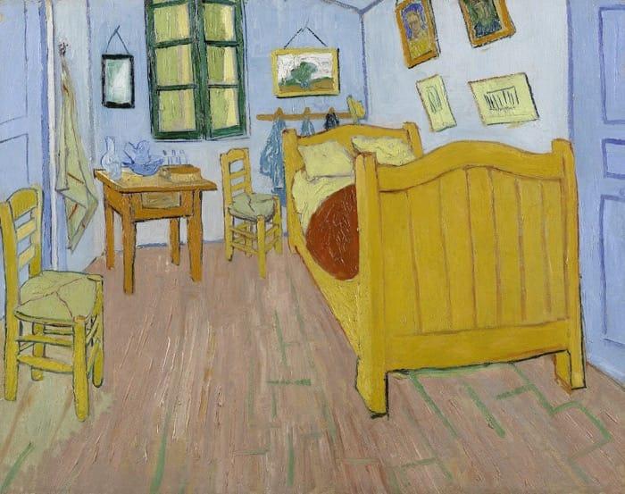 アムステルダムゴッホ美術館所蔵アルルの寝室