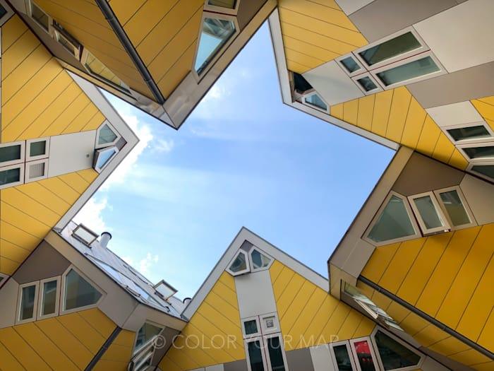 ロッテルダムキューブハウス外観
