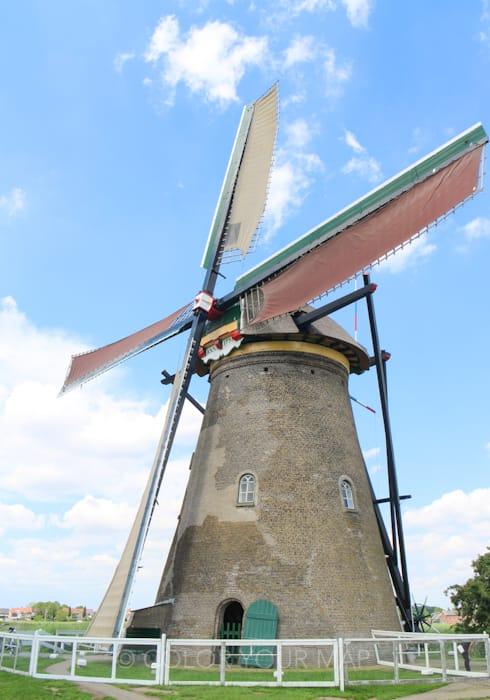 キンデルダイクの風車ネーダーヴァールト