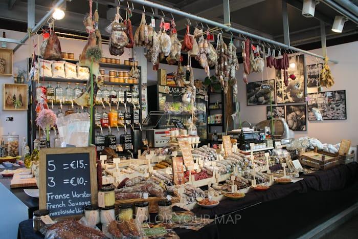 ロッテルダムマルクトハルの店