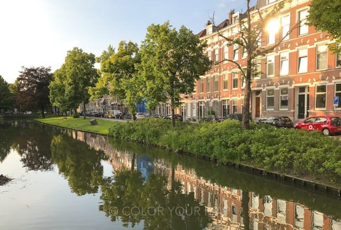 ロッテルダムホテルビアンヴェニュ周辺の街並み