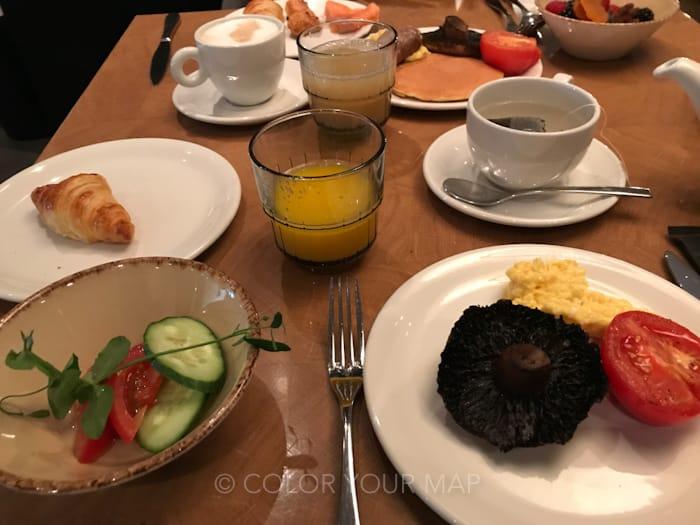 アートテルアムステルダム朝食
