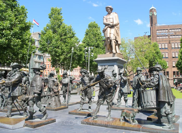 アムステルダムレンブラント広場