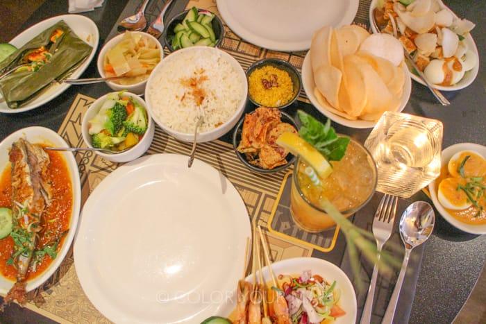 アムステルダムのインドネシア料理Kantjil&deTijger