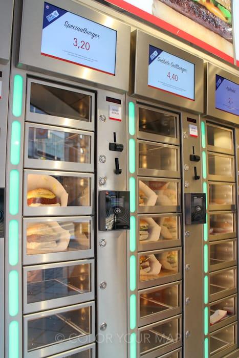 アムステルダムのコロッケ自動販売機