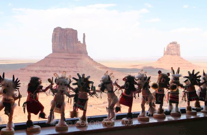 モニュメントバレーはナバホ族の居留地