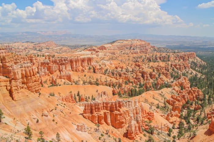 ブライスキャニオン国立公園の奇岩群