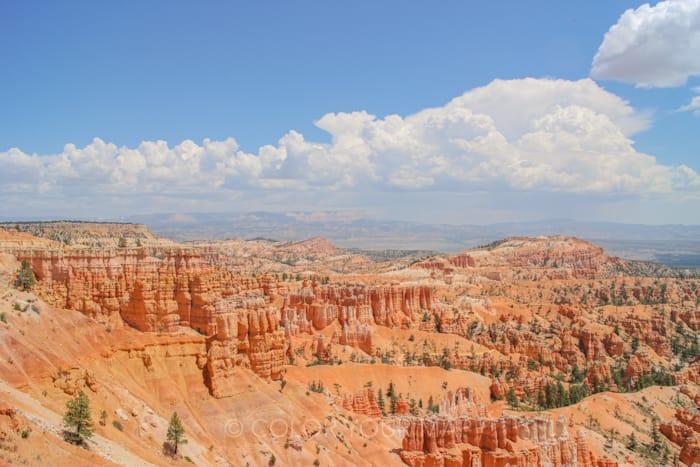 ブライスキャニオン国立公園の尖塔群