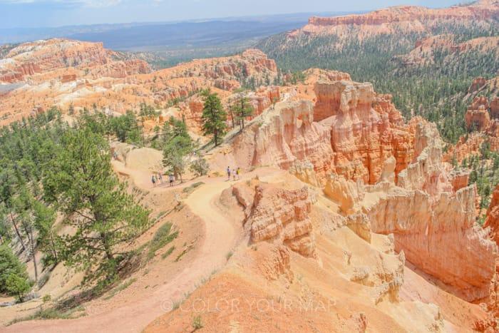 ブライスキャニオン国立公園の人気トレイル