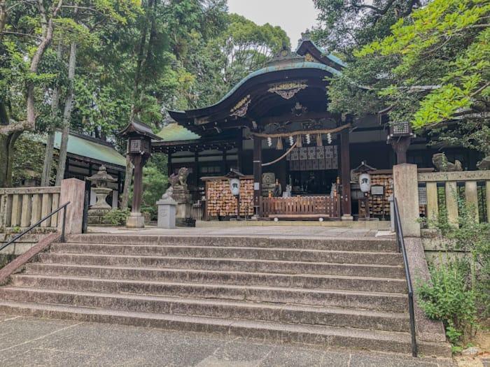 京都にある東天王岡崎神社
