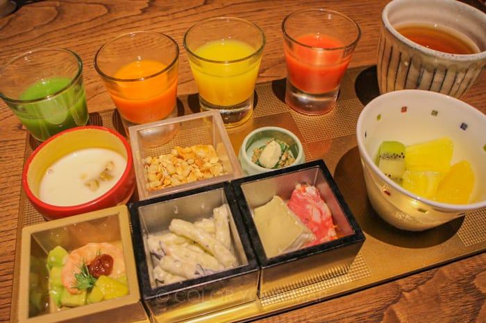 翠嵐ラグジュアリーコレクションホテル京都朝食