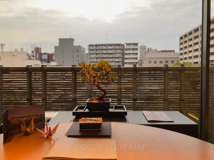ザリッツカールトン京都の部屋