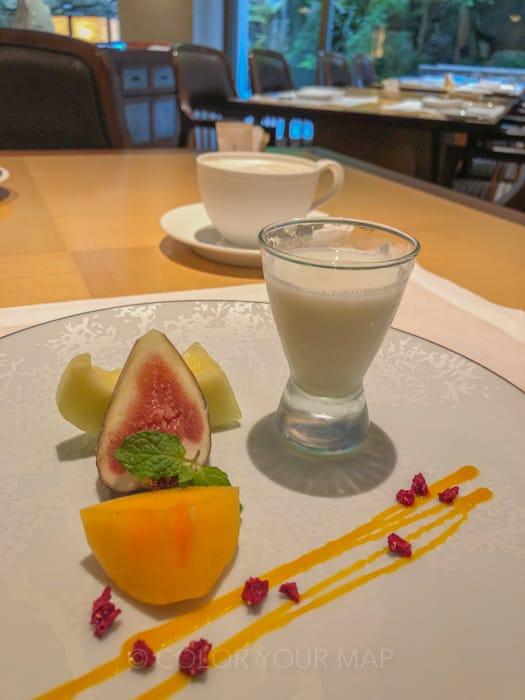 ザリッツカールトン京都の朝食
