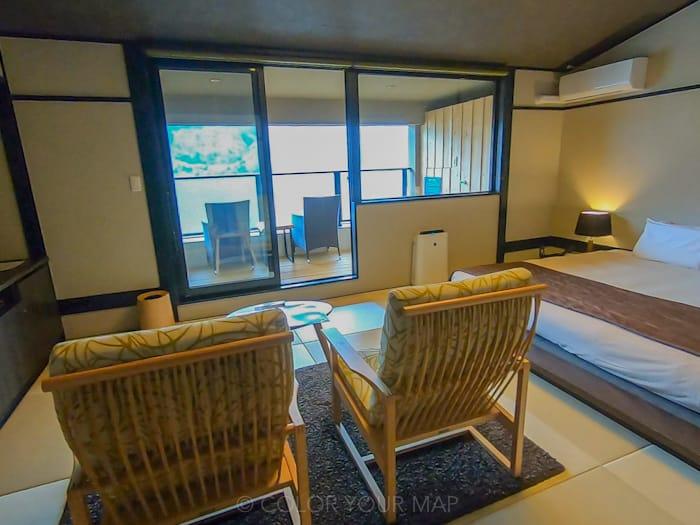 天翠茶寮の客室