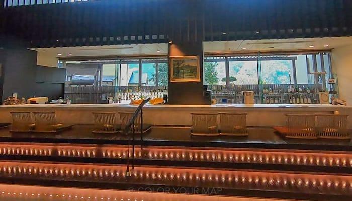 天翠茶寮の足湯カフェ&バー