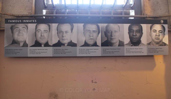 アルカトラズ刑務所の有名な囚人たち:アルカポネ等