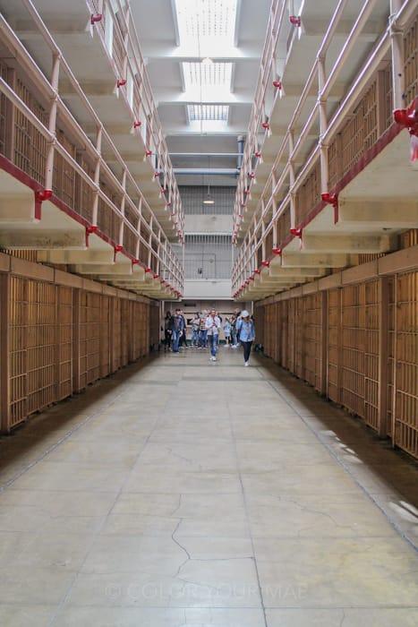 アルカトラズ刑務所の監房