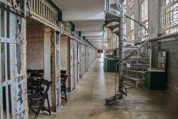 アルカトラズ刑務所は、現在ではサンフランシスコ定番の観光地に