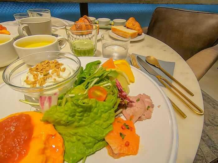 京都node hotelの朝食