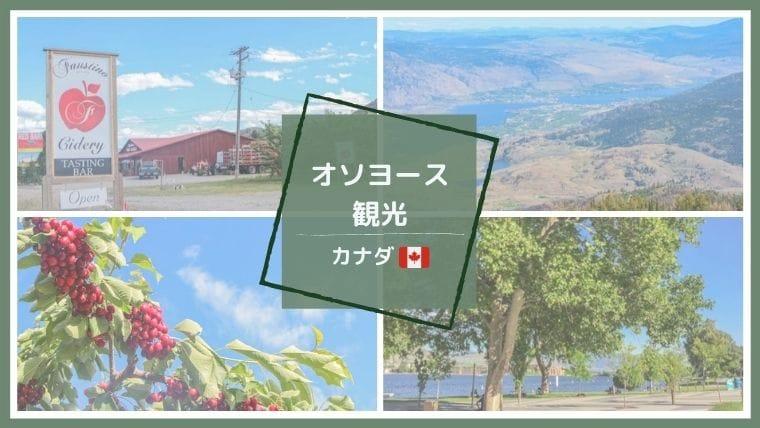 カナダBC州自然豊かなOsoyoos(オソヨース)のおすすめスポット